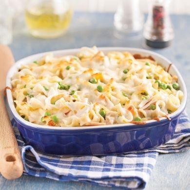 Gratin de nouilles au thon - Soupers de semaine - Recettes 5-15 - Recettes express 5/15 - Pratico Pratique