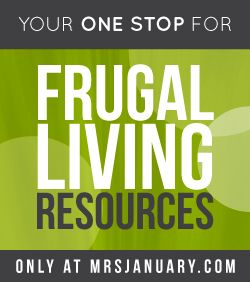 Frugal Living Resources via MrsJanuary.com #frugal