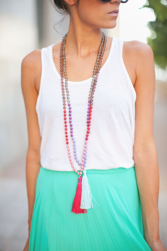 Layered Tassel Necklaces