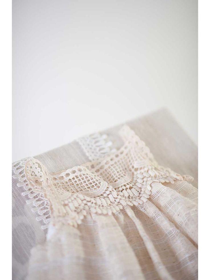 linen dress #detail @teticharitou