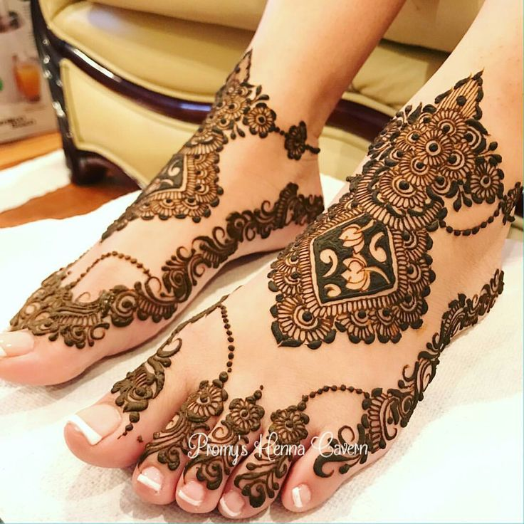 Bridal feet  mehandi