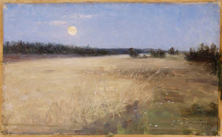 Danielson-Gambogi, Elin Kesäyö 1890.  Kansallisgalleria - Taidekokoelmat - Kesäyö