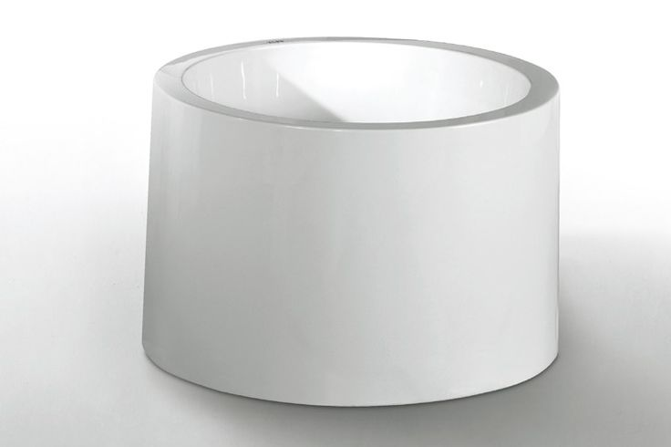 Modern Freestanding Soaking 100cm Very Small Round Bathtubs Sizes For One Person Baths In Bathroom MT-2867