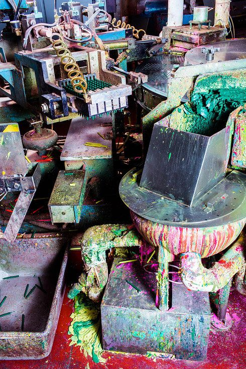 These Pictures From Inside A Crayola Factory Are Magical