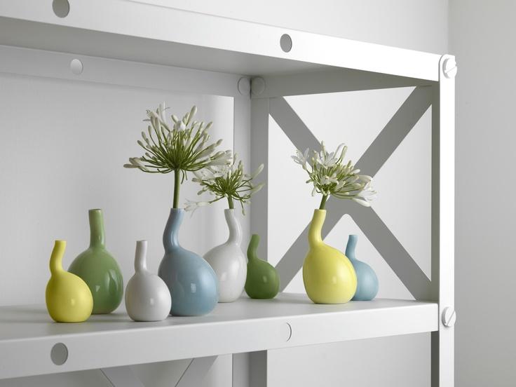 Kähler Bulbino Vase Set//