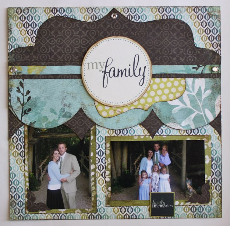 Love the page topper with the 3 circles underneath---One Page Layouts - Kiwi Lane Designs