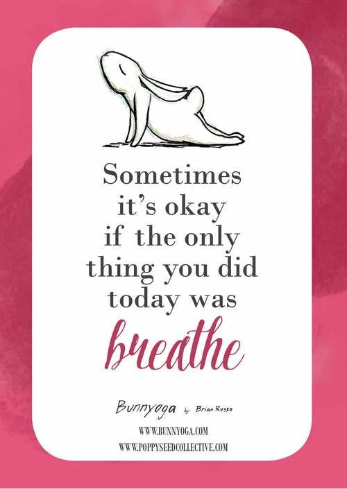 yoga bunny inspiration cards
