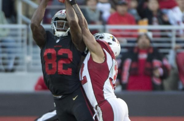 The Sports Xchange The San Francisco 49ers placed wide receiver Torrey Smith on injured reserve Friday due to a concussion.