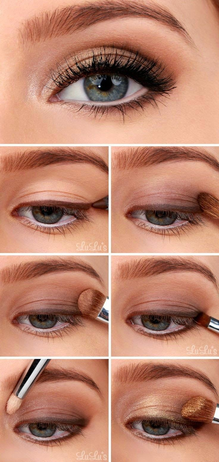 Golden Smoky Eye!