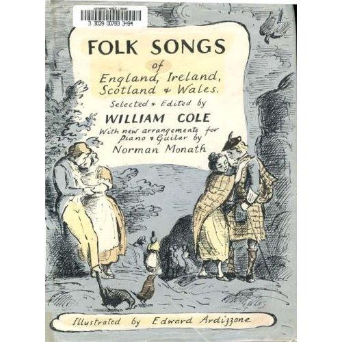 Folk Songs, illustrated by Edward Ardizzone