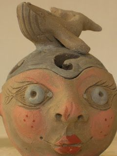 manu ceramiche: Teste portagioie