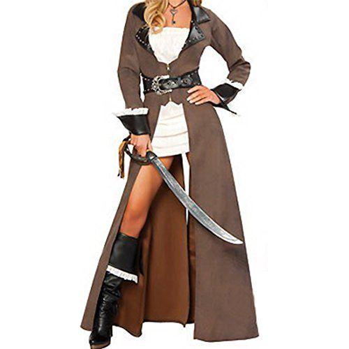 Piraten Piratin KOMPLETT Kostuem Steampunk Hut Rock Piratenkleid fuer Damen/Jungen(XL,Brown) Jetor http://www.amazon.de/dp/B00NBM15D0/ref=cm_sw_r_pi_dp_nKAzub0GM3XVD
