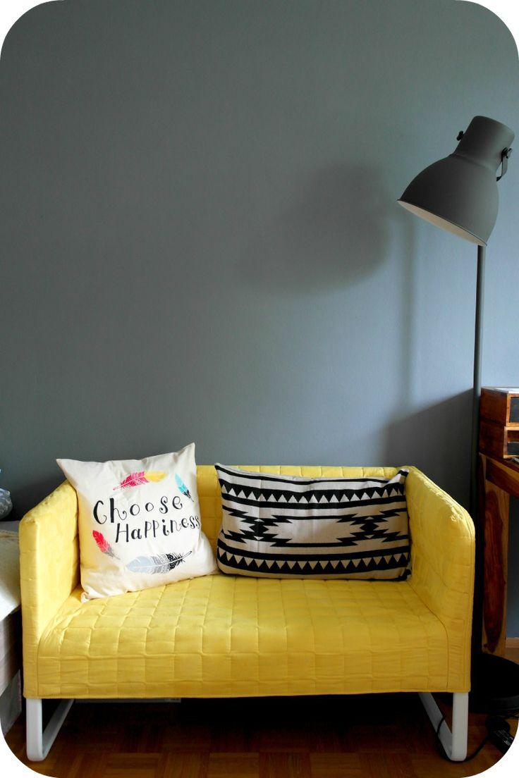 Ikea Knopparp Gelbes Sofa 2 Ikea Loveseat Bedroom Couch