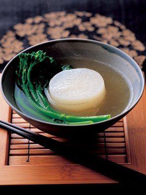 Radish soup 大根のスープ