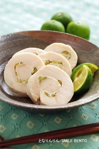 レモン・ライム・すだち」ってどんな料理に使えるの?食が進むさっぱり ... 塩すだちの鶏ハム
