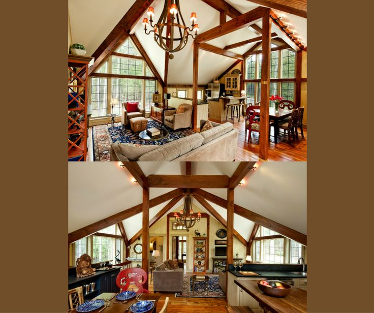 17 best images about small barn house designs on pinterest for Small post and beam house plans