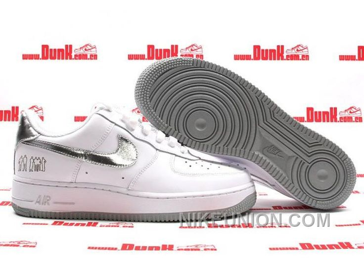 http://www.nikeunion.com/nike-air-force-1-low-white-silver-grey-top-deals.html NIKE AIR FORCE 1 LOW WHITE SILVER GREY TOP DEALS Only $58.95 , Free Shipping!