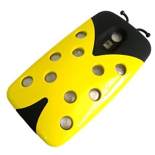 Capa Joaninha Amarela para Motorola Moto G (2ª Geração)