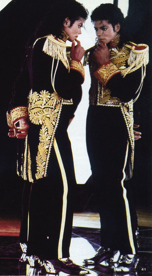 Fashion icons - michael jackson: Yes, MJ is one of my fashion icons and my muse for the Fall 2010