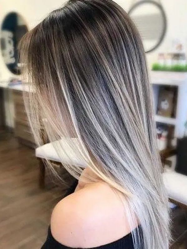 Best Silver Blonde Hair Colors For Long Sleek Hair To Wear Now