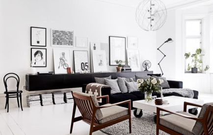 5 Clean and Modern Living Room