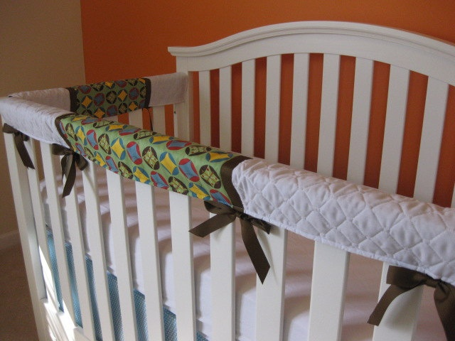 Crib Teething Guards for Convertible Cribs 3pc Set by kimscherer