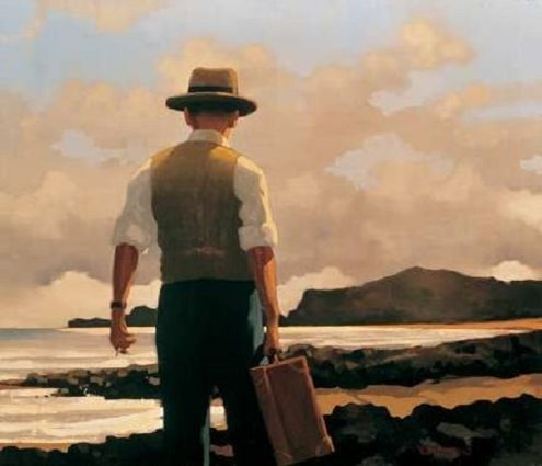 The Drifter - by Jack Vettriano  Available as an Artists Proof or as a Limited Edition Print