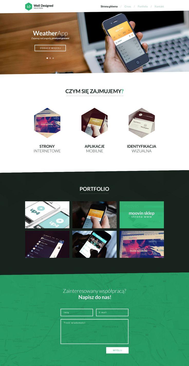 Well Designed website #webdesign #welldesigned #design #clean #dribbble  ----- Like us on facebook - https://www.facebook.com/welldesigned.agency