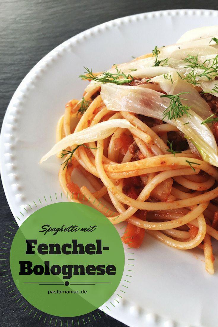 Tolle Variation der beliebten Bolognese-Sauce: Mit mariniertem Fenchel.