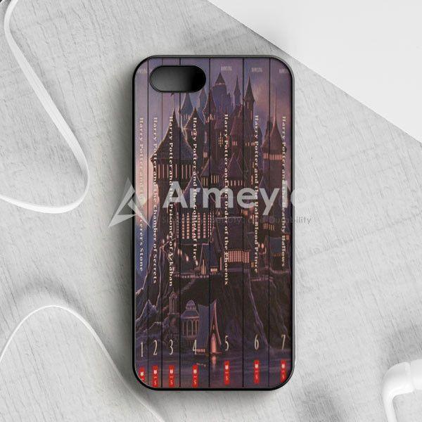 Harry Potter Book Collection iPhone 5|5S|SE Case | armeyla.com