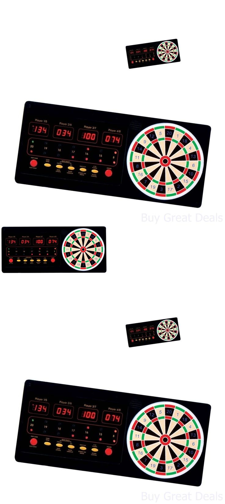Dart Boards 72576: Arachnid Dartboard, Electronic Touch Pad Dart Scorer Led Display Dart Board New BUY IT NOW ONLY: $82.01