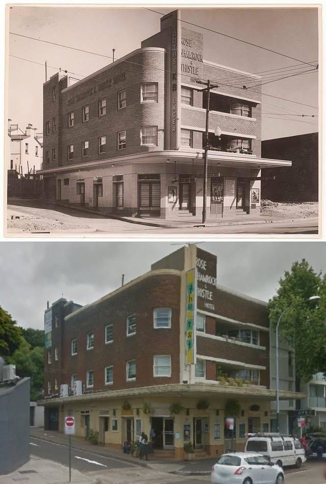 The Rose Shamrock Thistle Hotel Oxford Street Paddington In 1930 S And 2017