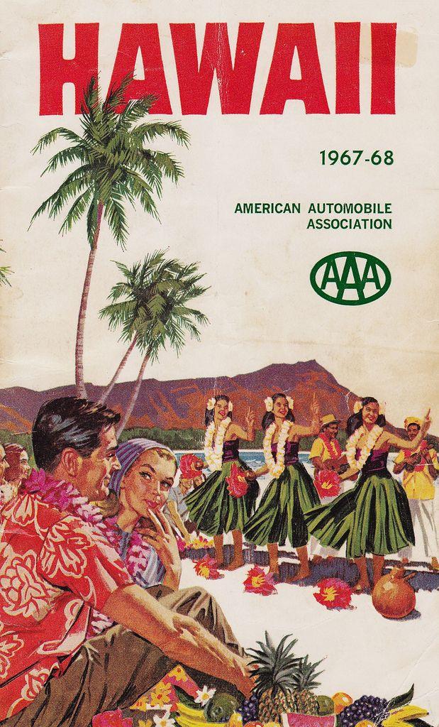 AAA Hawaii Travel Guide 1967-1968