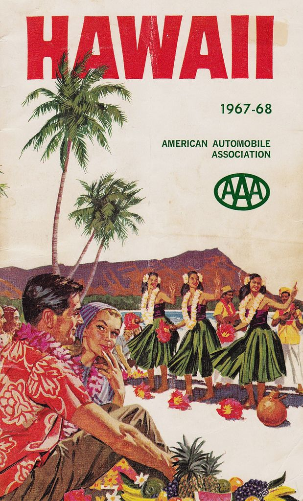 AAA Hawaii Travel Guide 1967-1968