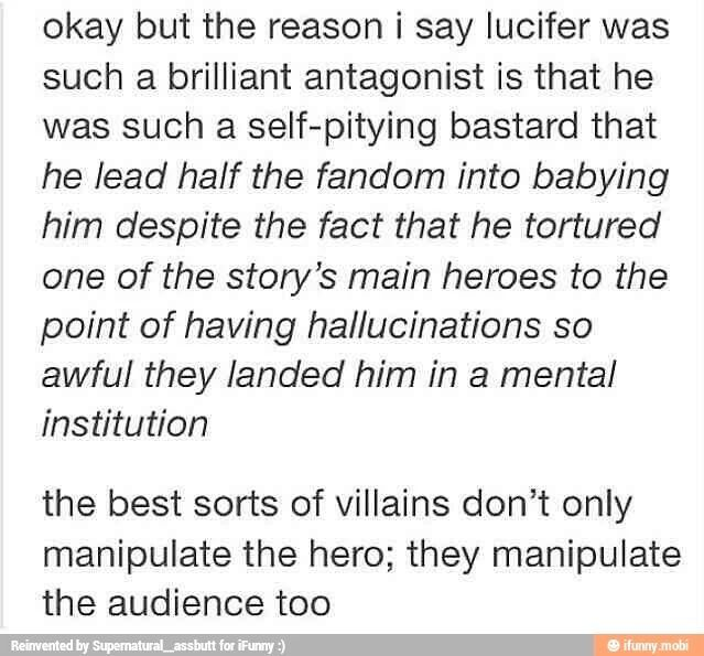 the best sorts of villain