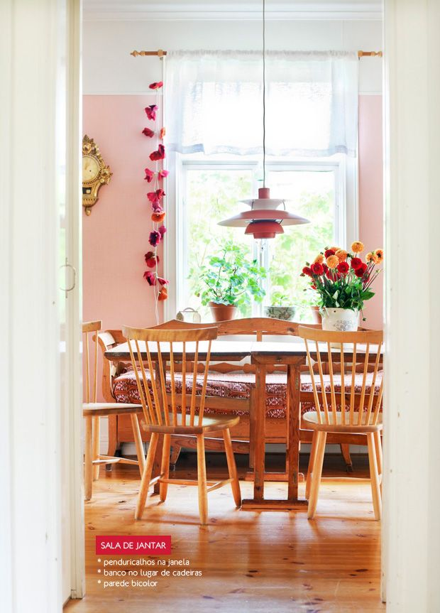 208 Best Pink Dining Rooms Images On Pinterest