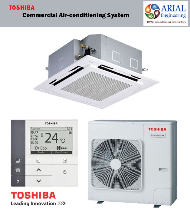 Toshiba Commercial Air Conditioning Solutions Arial Engineering