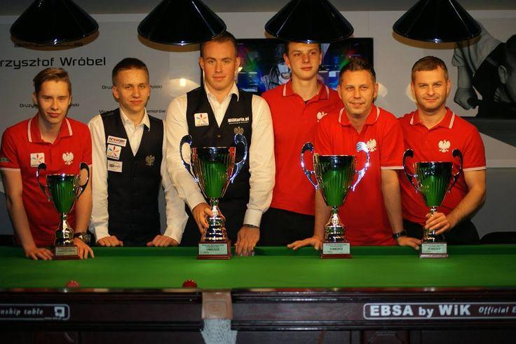Drużynowe Mistrzostwa Polski w Snookerze 2014  https://www.facebook.com/media/set/?set=a.735318056551785.1073741855.204764369607159&type=1