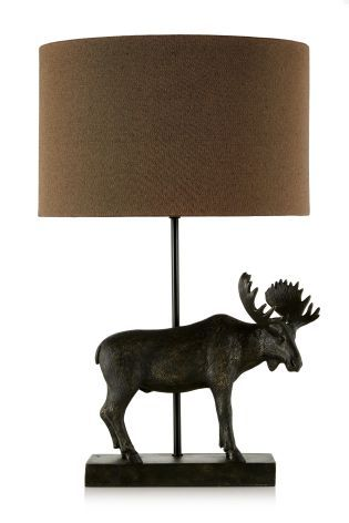 Nice Moose Table Lamp