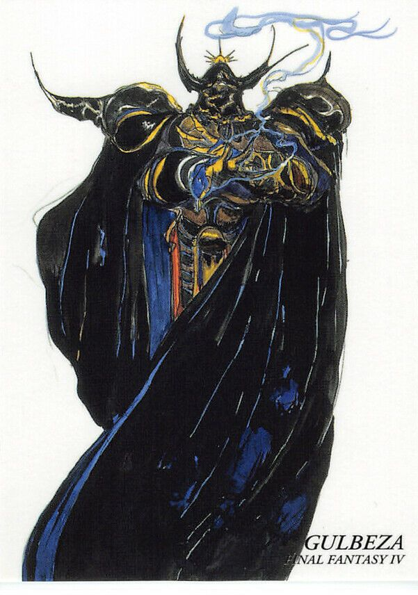 Final Fantasy Art Museum Trading Card 044 Golbez Gulbeza Iv Ebay Final Fantasy Art Final Fantasy Artwork Final Fantasy Iv