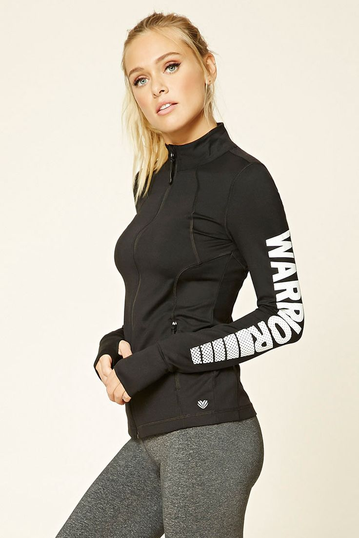 Warrior Track Jacket | Forever 21 - Forever 21 - Shop @ FitnessApparelExpress.com
