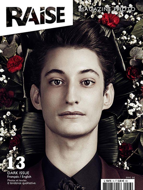 Cover Raise Magazine Issue #13 with Pierre Niney #PierreNiney