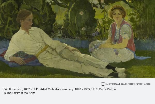Eric Robertson, 1887 - 1941. Artist. With Mary Newbery, 1890 - 1985 (1912) | National Galleries of Scotland