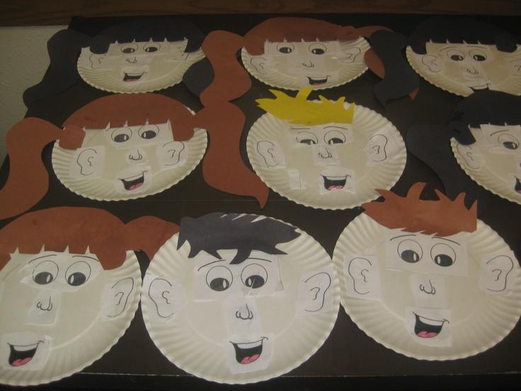Preschool Crafts Body Parts