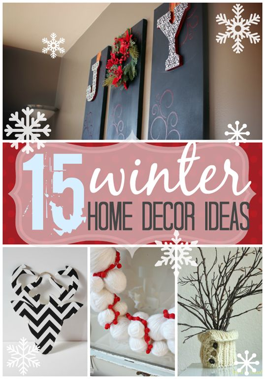 17 Best ideas about Winter Home Decor on Pinterest White