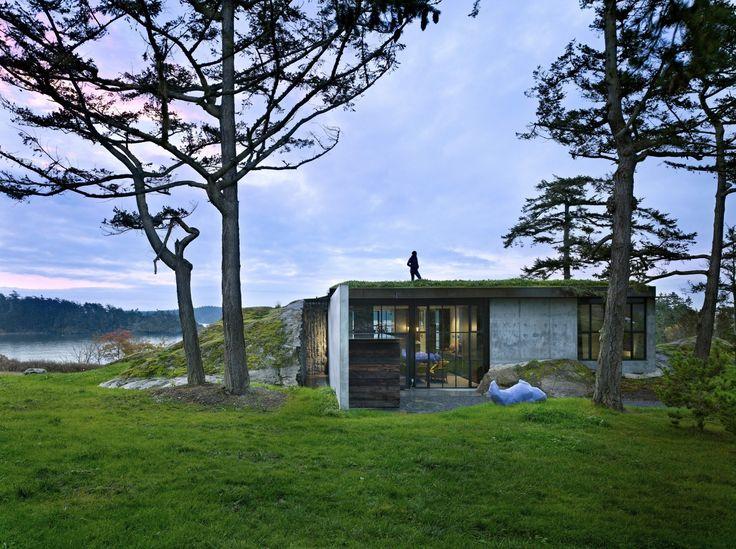 The Pierre, San Juan Islands, Washington. Tom Kundig, principle designer.