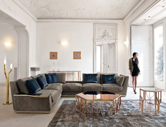 Sofas | Seating | Nobu | Longhi | Giuseppe Iasparra. Check it out on Architonic