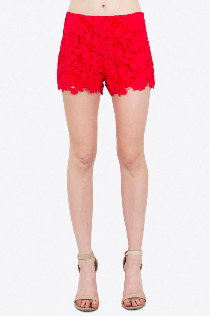 Avery Crochet Shorts