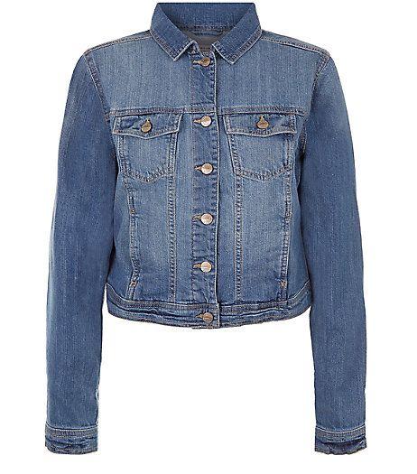 Blue Denim Jacket    New Look