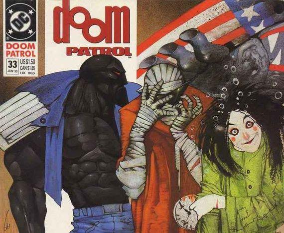 Grant Morrison's Doom Patrol: The Craziest Superhero Story Ever Told - The Atlantic